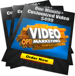 one minute plus customized video